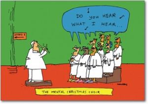 Mental Health Funny Christmas Cards