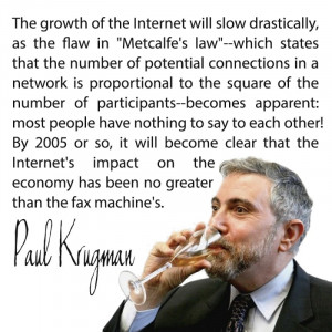 Tech People Are Passing Around This Paul Krugman Quote On The Internet ...