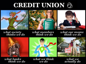 Getting in on the meme action: What people think Credit Unions do and ...