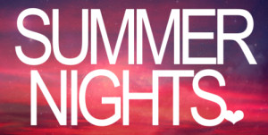 cute, nights, quote, summer