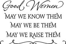 Fabulous Quotes About Women Girl power / ~quotes by and