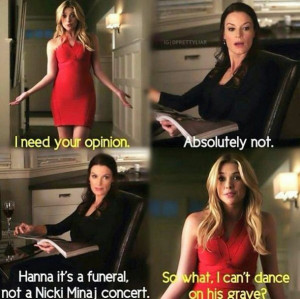 Pretty Little Liars Funny Quotes