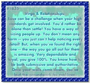 Virgo Love Quotes