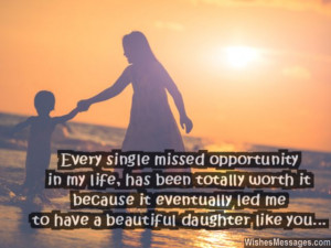 Single Mother Quotes To Daughter Beautiful quote and love