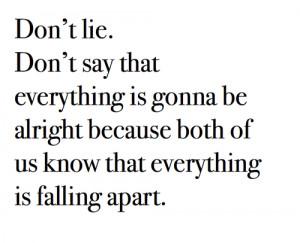 Falling Apart Tumblr Heart