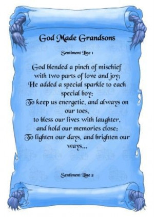 Quotes and Sayings About Grand Sons | Love My Grandson Quotes ...