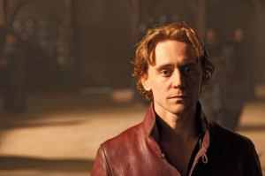 The man who would be king: Tom Hiddleston plays Prince Hal
