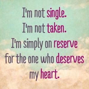 Relationship Status Taken Quotes. QuotesGram