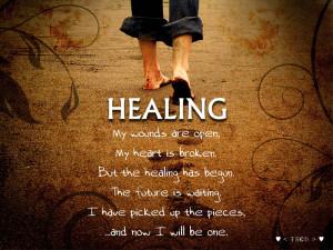 Healing Quote Bella Bleue