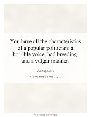 Vulgar Quotes