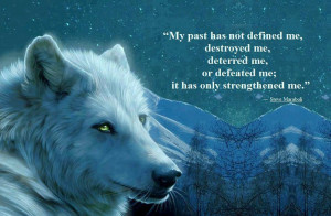 ... Awesome Stuff // Tags: Awesome quote - My past has not defined me