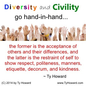 Howard Quote on Diversity, Inspirational Quotes on Diversity, Quotes ...