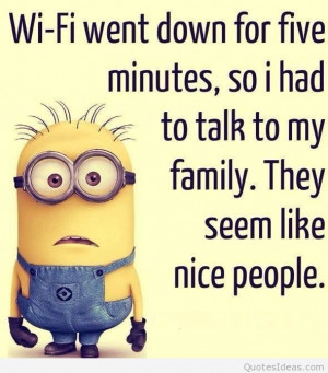Funny Minions quotes wallpaper hd