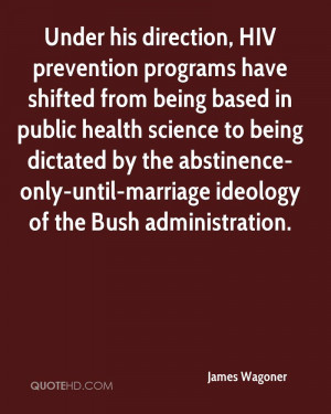 programs have shifted from being based in public health science ...