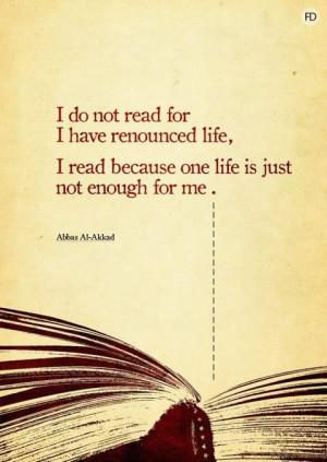 author quotes - Abbas Al-Akkad