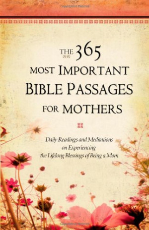 bible verses about mothers and children
