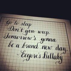 Eeyore Quotes Tumblr Eeyore's lullaby