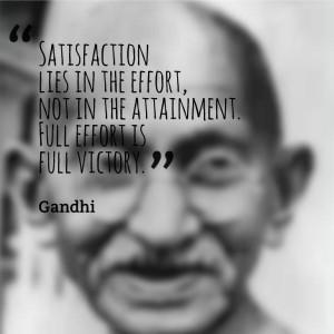 Gandhi #Quote #Leadership