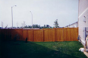 Fences - Cedar - Click on the thumbnails for more information.