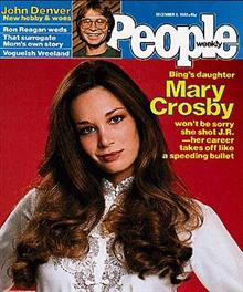 mary crosby american actress mary frances crosby is an american ...