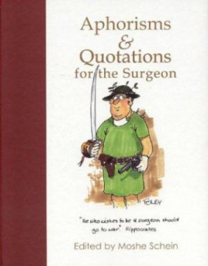Aphorisms and Quotations for the Surgeon 9781903378113