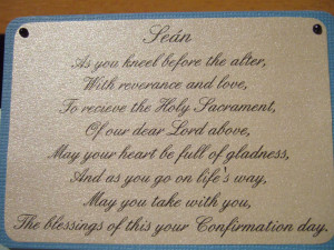 verse from communion and confirmation cards by Nanamaro on DoCrafts