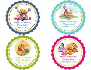 birthday birthday party printables miniu2026 winnie the pooh birthday ...