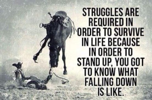 Struggles make us stronger!