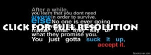 Quotes facebook cover
