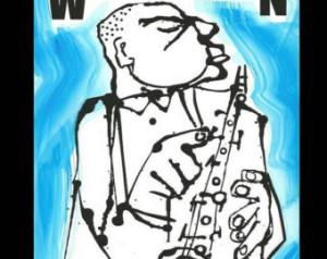 Woody Herman jazz art