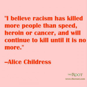 ... on RacismChildress Quotes, Black History Quotes, Quotes Sayings