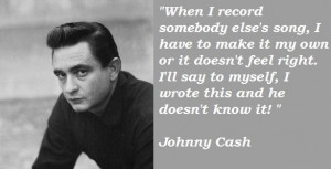 Johnny cash famous quotes 1