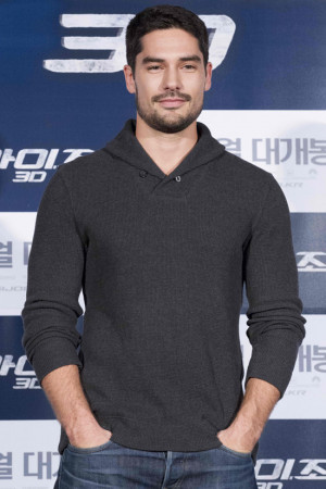 ... ' today and can't help but notice hot and handsome D.J. Cotrona