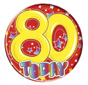 Happy 80th Birthday Wishes
