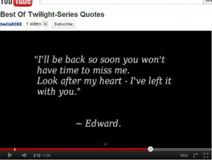 Best Twilight Series quote ever