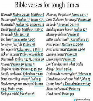 You are here: Home › Quotes › Bible verses for tough times