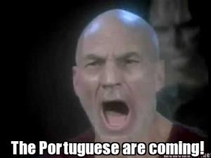 The Portuguese are coming!