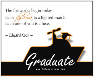 Cool graduation quotes