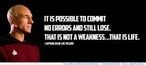 Captain Jean-Luc Picard motivational inspirational love life quotes ...