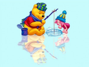 winnie the pooh and friends | Winnie The Pooh Christmas Pictures ...