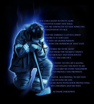 FiREFiGHtER'S PRAYER Image