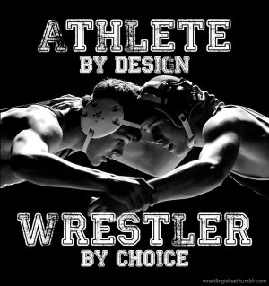 Wrestling is the best sport!! It builds character on and off the mat ...