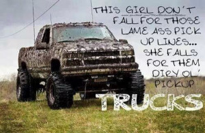 love them dirty trucks... and country boys