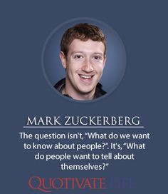 quotes By Mark Zuckerberg http://quotivatelife.com/mark-zuckerberg/ # ...