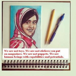 Malala Yousafzai Quotes for Status!
