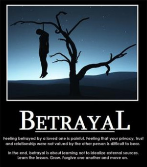 What would you do if a close friend Betrayed you?