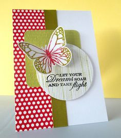 Let your dreams soar and take flight #quote #card #butterfly