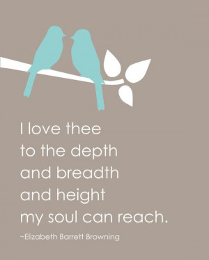 Elizabeth Barrett Browning Poem How Do I Love Thee - Valentine's Day ...