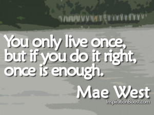 Mae West Quotes...