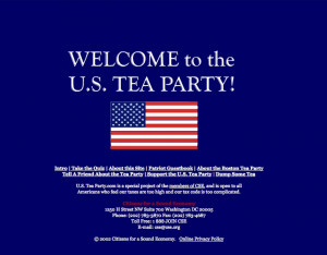 Tea Party Tobacco connections
